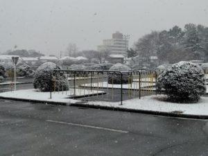 2月9日(土)13時30分現在 積雪予報に伴う教習及び送迎バスの運行について